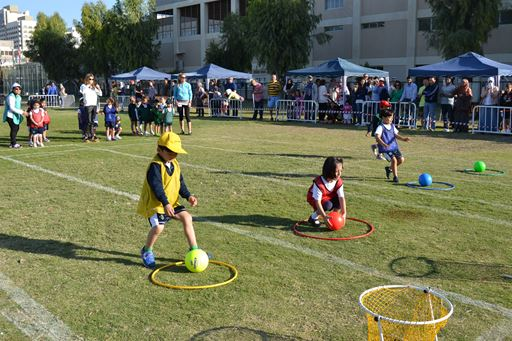 Grade 2 sports day:
