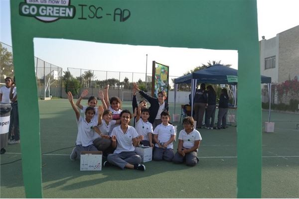 ISC-AbuDhabi Goes Green