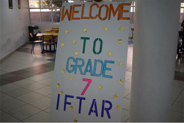 Grade 07 Iftar 2016-2017